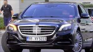 mercedes headlights mercedes s class spied with revised headlights and interior