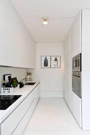 am駭ager une toute cuisine cuisine studio toute blanche