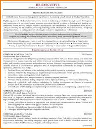 Sample Hr Executive Resume by 7 Examples Of Human Resources Resume Resume Reference