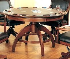 round poker table with dining top modern poker table modern black round poker table with dining top
