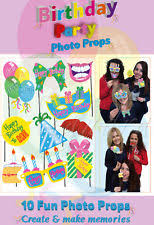 photo booth party props 10 happy birthday selfie photo props booth kit party