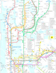 Interactive Nyc Subway Map by New York City Subway Map Mesmerizing Subway Map Of Nyc