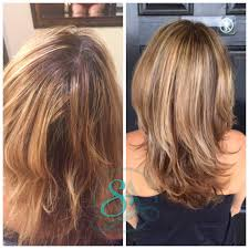 hairstyles for brown hair medium length balayage blonde and brown medium length hair for middle aged
