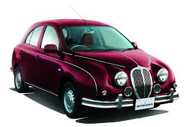 nissan micra jaguar lookalike mitsuoka launches third generation of its retro fused viewt
