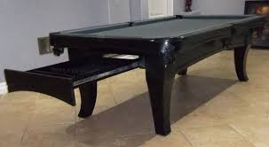 Academy Pool Table by Buy 8 U0027 Bella Pool Table With Drawer For Accessories At Dynamic