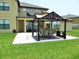 budget outdoor living space youtube