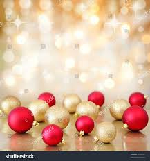 red gold christmas baubles ornaments on stock photo 86700100