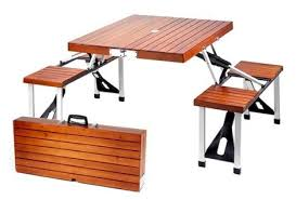 camping in your apartment more folding tables that take up less