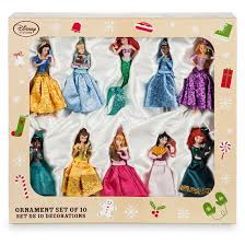 disney princess sketchbook ornament set from disney store inside