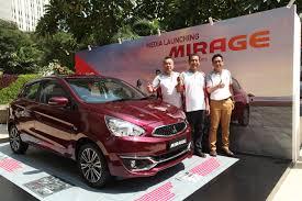 mitsubishi baru ktb luncurkan wajah baru mitsubishi new mirage u2013 emma indonesia