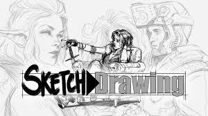 artstation sketch u003edrawing john grello