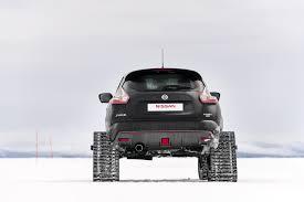 jeep snow tracks nissan juke nismo rsnow has tracks for deep snow autotribute
