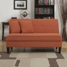 orange sofas couches u0026 loveseats shop the best deals for dec