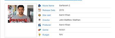 aamir khan upcoming movies u0026 release date 2017 2018 19 u2014 steemit