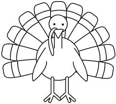 coloring turkey roasted free draw thanksgiving