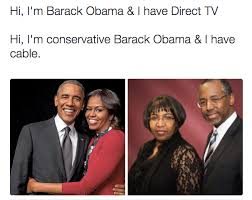 Direct Tv Meme - the offensive sexist joke that is candy carson vs michelle obama