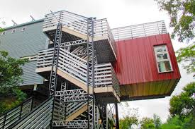 shipping containers repurposed for off grid home in south africa