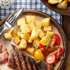 Home Fries by Oven Fried Potatoes Recipe Taste Of Home