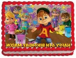 alvin and the chipmunks cake toppers alvin and the chipmunks birthday decorations calissto