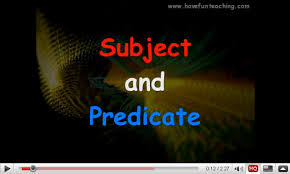 subject and predicate video download