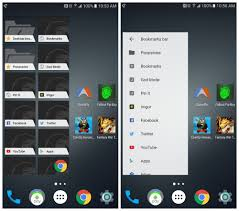 android widget chrome is getting a new material design bookmarks widget
