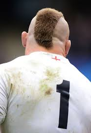 england u0027s joe marler shows off his latest haircut rugby