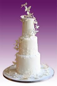 wedding butterfly cake