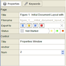html layout under initial document layout with screenshots details