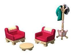 Sylvanian Families Living Room Furniture Set Amazoncouk Toys - Sylvanian families luxury living room set