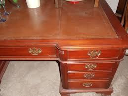 Schreibtisch Gross Sehr Grosser Partner Schreibtisch Mahagoni 180 X 120 Antik Möbel