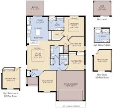 Pulte Homes Floor Plans by Bradford New Home Plan Parrish Fl Pulte Homes New Home