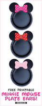 spirit halloween coupon 2015 printable free printable minnie mouse ears for plates pink baby pink