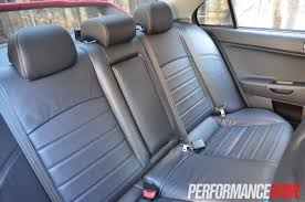 2014 Mitsubishi Lancer Evolution X 2014 Mitsubishi Lancer Evolution X Mr Rear Seat