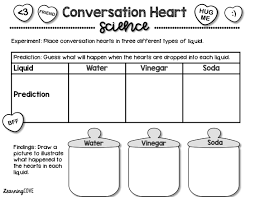 Conversation Hearts Valentine s Day and Kindness Activity Packet