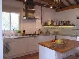 White Stained Wood Kitchen Cabinets Kitchen Furniture Kitchen L Shaped Brown Glaze Oak Wood Shelf