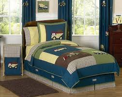 Bed Sets For Boy Construction Zone Kids Bedding Twin Full Queen Comforter Sets For
