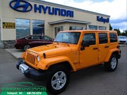 orange jeep wrangler unlimited for sale new and used orange jeep wrangler unlimiteds for sale in montana mt