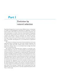 introduction to population biology charles darwin on the