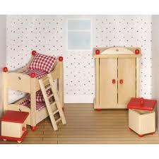 chambre a coucher des enfants meuble pour maison de poupées articulées chambre à coucher enfants