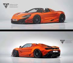 orange mclaren 720s artstation mclaren 720s spider toni kostov