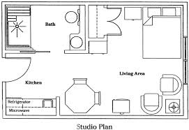Floor Plan Apartment Design Chic One Apartment Floor Plans With Small Interior Equipped With