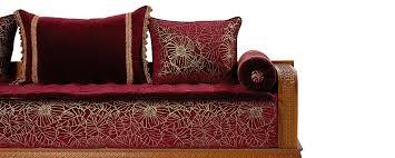 tissu pour canapé marocain salon marocain en couleur grouna home decoration
