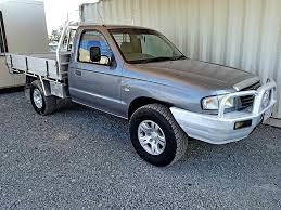 mazda b2500 turbo diesel ute mazda b2500 bravo 2005 grey used vehicle sales