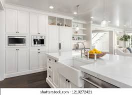 white kitchen cabinets with farm sink farmhouse sink images stock photos vectors
