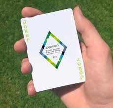 Magician Business Cards Diamon Playing Cards N 2 The Summer Season By Diamon Playing