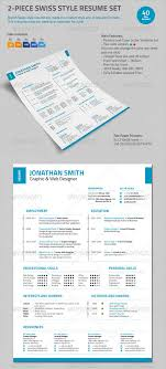 modern swiss style resume cv psd templates a modern resume template in ms word