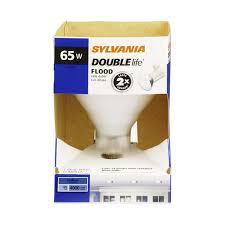 flood light bulbs sylvania sylvania double life indoor 65 watt flood light bulb 1 0 ct from