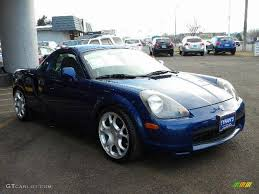 nissan spyder spectra blue mica 2001 toyota mr2 spyder roadster exterior photo