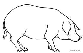 Free Printable Pig Coloring Pages For Kids Cool2bkids Pig Coloring Pages