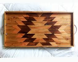 Wooden Trays For Ottomans Wood Tray Wood Catch All Jewelry Tray Wood Wall